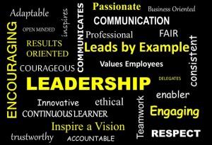 leadership word art